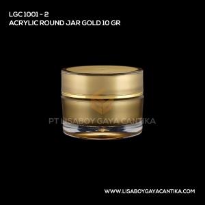 1001-2-ACRYLIC-ROUND-JAR-GOLD-10-GR