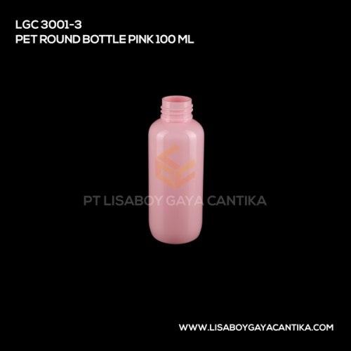 LGC-3001-3-PET-ROUND-BOTTLE-PINK-100-ML