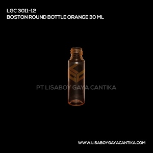LGC-3011-12-BOSTON-ROUND-BOTTLE-ORANGE-30-ML