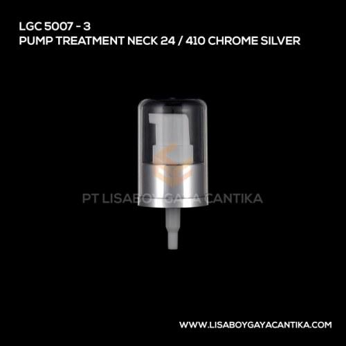 5007-3-PUMP-TREATMENT-NECK-24-410-CHROME-SILVER