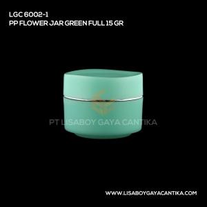 LGC-6002-1-PP-FLOWER-JAR-GREEN-FULL-15-GR