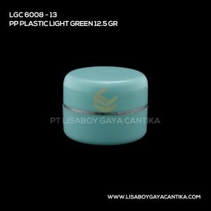 LGC-6008-13-PP-PLASTIC-JAR-LIGHT-GREEN-12.5-GR