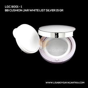 9001-1-BB-CUSHION-JAR-WHITE-LIST-SILVER-15-GR