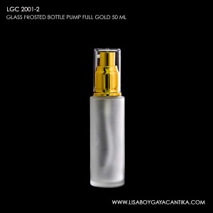 LGC-2001-2-FROSTED-BOTTLE-PUMP-FULL-GOLD-50-ML