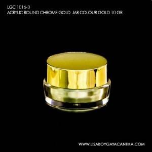 LGC-1016-3-ACRYLIC-ROUND-CHROME-GOLD-JAR-COLOUR-GOLD-10-GR