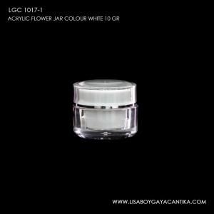 LGC-1017-1-ACRYLIC-FLOWER-JAR-10-GR-COLOUR-WHITE