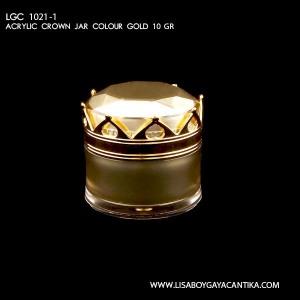 LGC-1021-1-ACRYLIC-CROWN-JAR-COLOUR-GOLD-10-GR