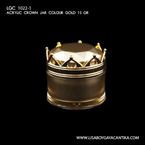 LGC-1022-1-ACRYLIC-CROWN-JAR-COLOUR-GOLD-15-GR