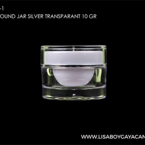 LGC-1023-1-ACRYLIC-ROUND-JAR-WHITE-TRANSPARANT-10-GR