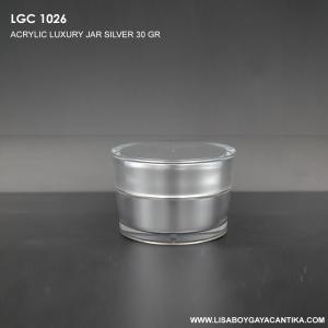 LGC-1026-ACRYLIC-LUXURY-JAR-SILVER-30-GR-
