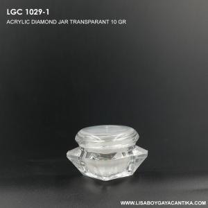 LGC-1029-1-ACRYLIC-DIAMOND-JAR-TRANSPARANT-10-GR-
