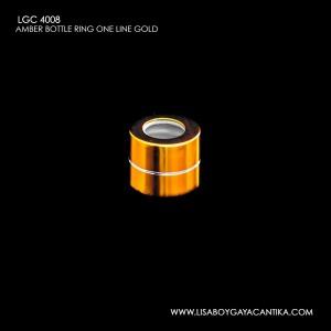 LGC-4008-AMBER-BOTTLE-RING-ONE-LINE-RING-GOLD