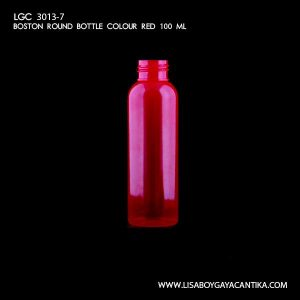 LGC-3013-7-BOSTON-ROUND-BOTTLE-COLOUR-RED-100-ML-