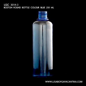 LGC-3014-3-BOSTON-ROUND-BOTTLE-COLOUR-BLUE-250-ML-