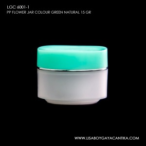 LGC-6001-1-PP-FLOWER-JAR-COLOUR-GREEN-NATURAL-15-GR