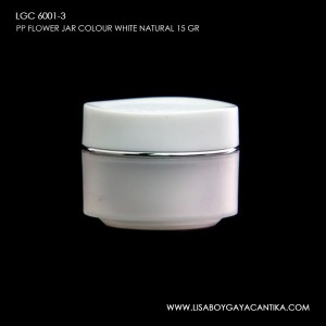 LGC-6001-3-PP-FLOWER-JAR-COLOUR-WHITE-NATURAL-15-GR