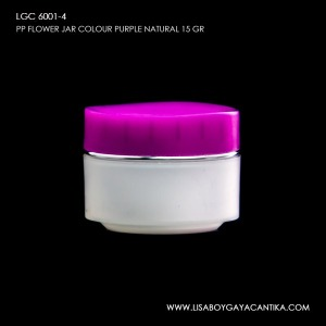 LGC-6001-4-PP-FLOWER-JAR-COLOUR-PURPLE-NATURAL-15-GR