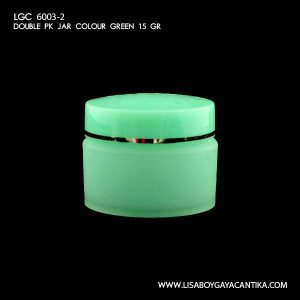 LGC-6003-2-DOUBLE-PK-JAR-COLOUR-GREEN-15-GR
