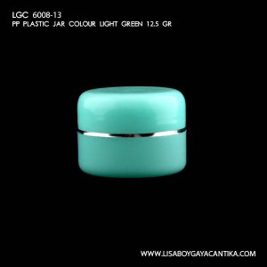 LGC-6008-13-PP-PLASTIC-JAR-COLOUR-LIGHT-GREEN-12.5-GR