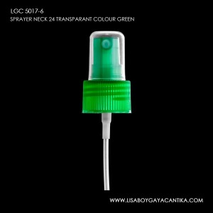 LGC-5017-6-SPRAYER-NECK-24-TRANSPARANT-COLOUR-GREEN