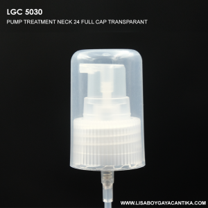 LGC-5030-PUMP-TREATMENT-NECK-24-FULL-CAP-TRANSPARANT