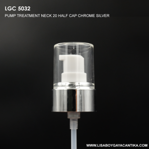 LGC-5032-PUMP-TREATMENT-NECK-20-HALF-CAP-CHROME-SILVER