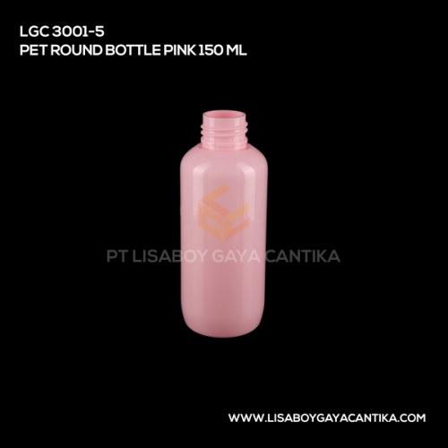 LGC-3001-5-PET-ROUND-BOTTLE-PINK-150-ML
