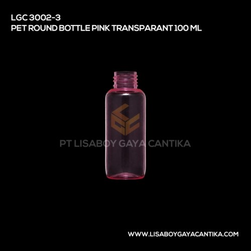 LGC-3002-3-PET-ROUND-BOTTLE-PINK-TRANSPARANT-100-ML
