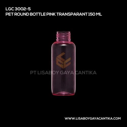 LGC-3002-5-PET-ROUND-BOTTLE-PINK-TRANSPARANT-150-ML