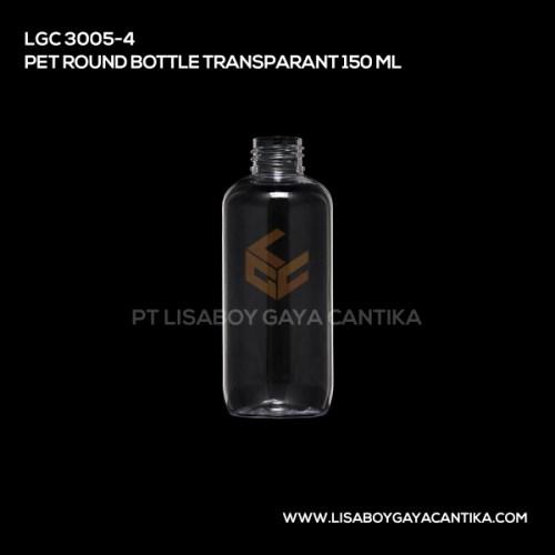 LGC-3005-4-PET-ROUND-BOTTLE-TRANSPARANT-150-ML
