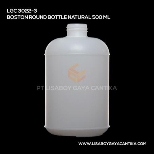LGC-3022-3-BOSTON-ROUND-BOTTLE-NATURAL-500-ML