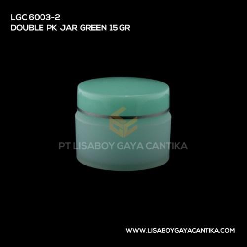 LGC-6003-2-DOUBLE-PK-JAR-GREEN-15-GR