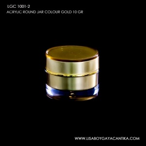 LGC-1001-2-ACRYLIC-ROUND-JAR-COLOUR-GOLD-10-GR