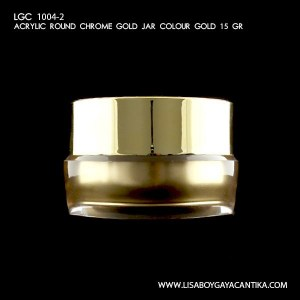 LGC-1004-2-ACRYLIC-ROUND-CHROME-SILVER-GOLD-COLOUR-GOLD-15-GR