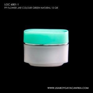 LGC-6001-1-PP-FLOWER-JAR-COLOUR-GREEN-NATURAL-15-GR