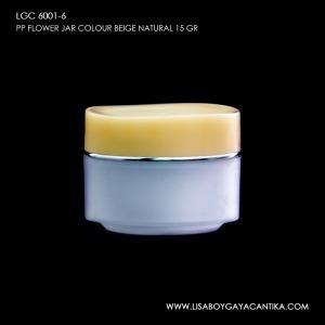 LGC-6001-6-PP-FLOWER-JAR-COLOUR-BEIGE-NATURAL-15-GR