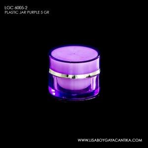 LGC-6005-2-PLASTIC-JAR-5-GR-PURPLE