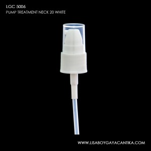 LGC-5006-PUMP-TREATMENT-NECK-20-WHITE