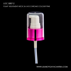 LGC-5007-2-PUMP-TREATMENT-NECK-24-410-CHROME-COLOUR-PINK